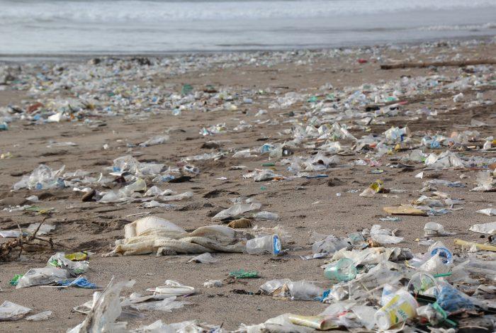 Plastikmüll Strand