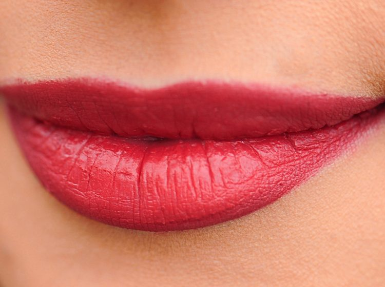 Lippen rot