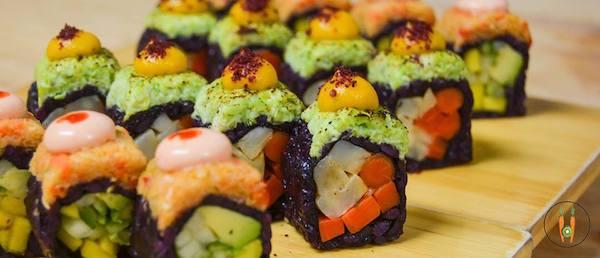 Vegane Sushi im Beyond Sushi. Copyright: Beyond Sushi