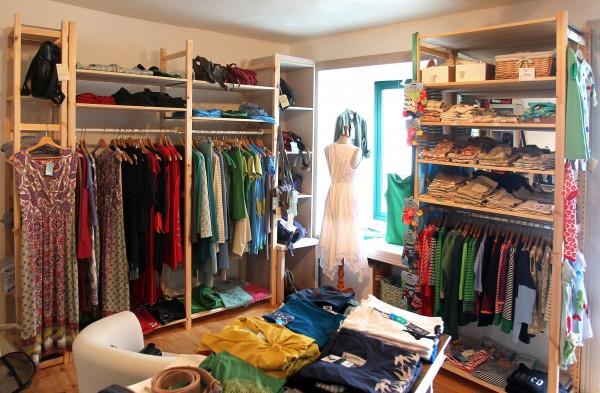 Geschäft fairkleidet