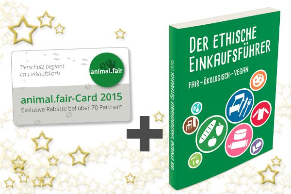 Super Weihnachtsgeschenk: Die Ethik.Card und der Ethische Einkaufsführer