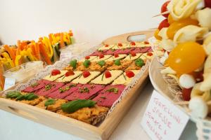 Vegetarisch-veganes Biolino-Buffet