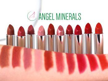 Lippenstift (c) ANGEL MINERALS by Karin Hunkel