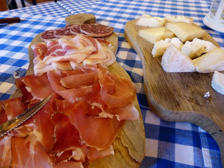 Wurst Schinken Speck Käse