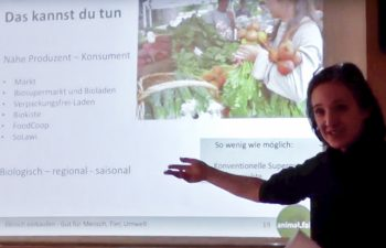Vortrag von Obfrau Petra Schönbacher