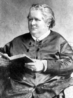 Frances Power Cobbe by Elliott & Fry. Public Domain via Wikimedia, thx!