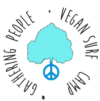 Logo Vegan Surf Camp