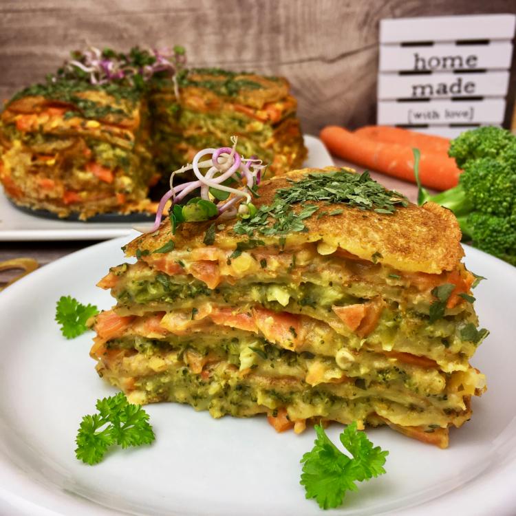 Palatschinken-Lasagne