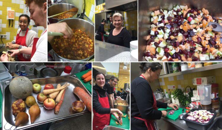 Vienna Veggie Homeless Cooking, vegan Kochen für Obdachlose