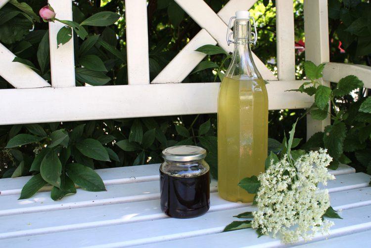 Holunderblüten-Sirup