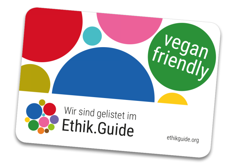 Unsere vegan-friendly-Sticker