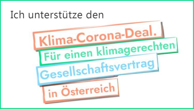Klima-Corona-Deal